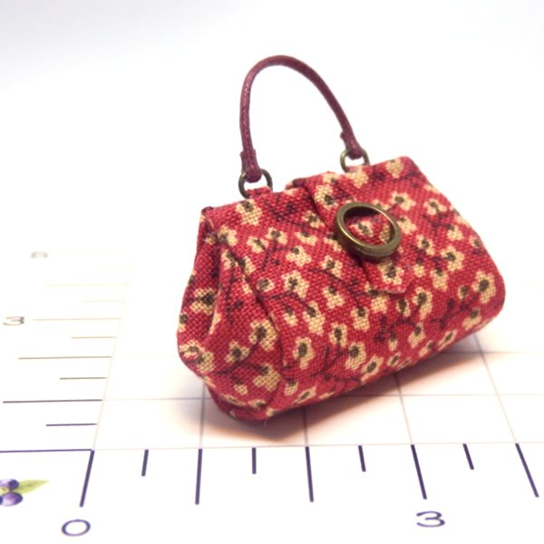 画像2: 赤柄バッグ