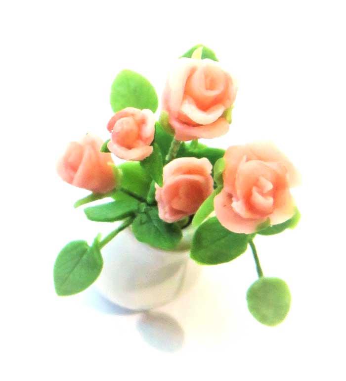 画像2: ばら(花瓶入り)