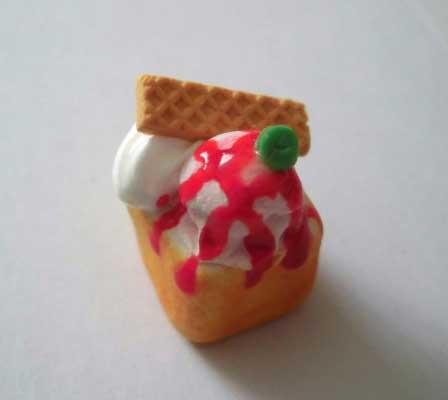 画像2: 苺ソースハニートースト(特価)
