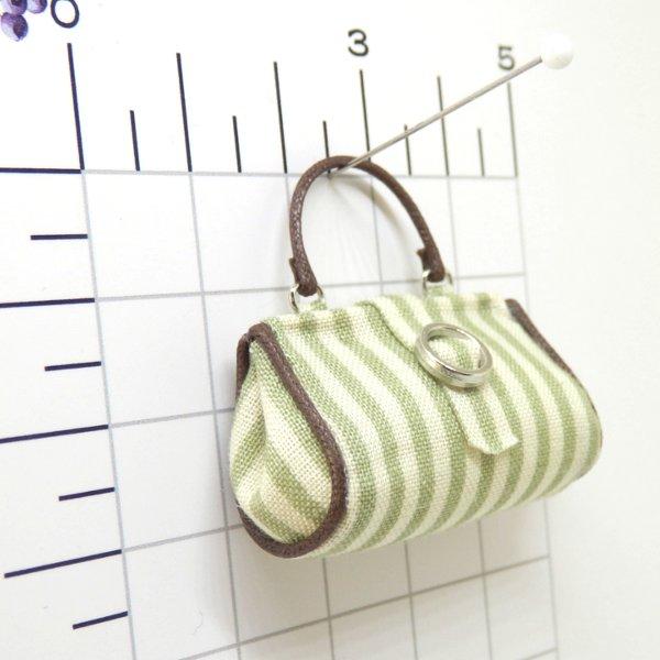 画像2: グリーンスストライプバッグ