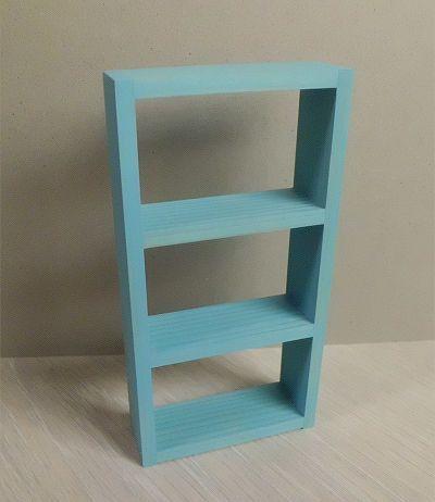 画像1: 水色の棚