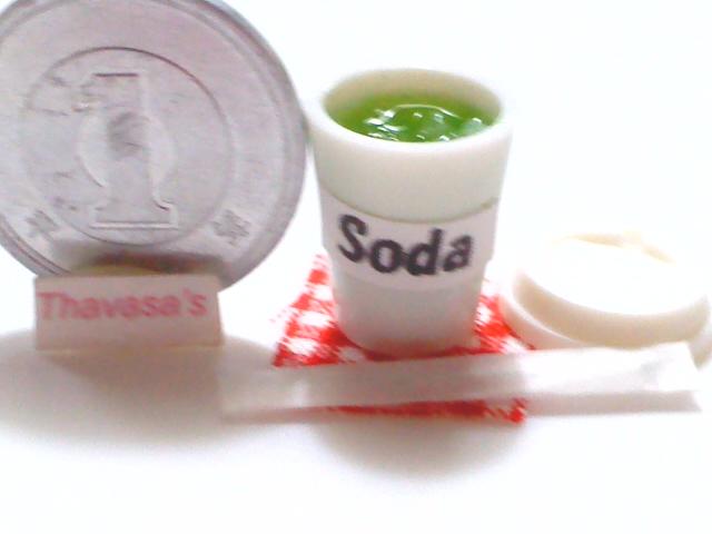 画像2: カップ入りソーダ