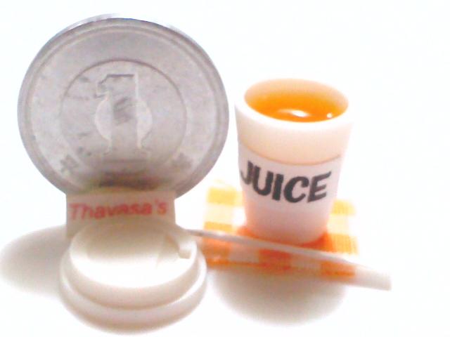 画像3: カップ入りオレンジジュース