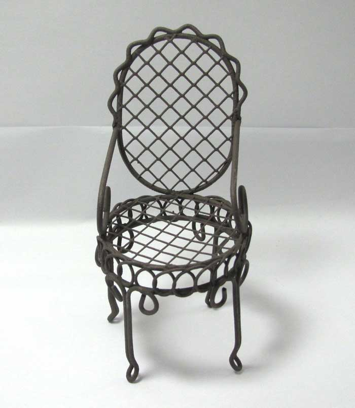画像1: 椅子・ブラウン