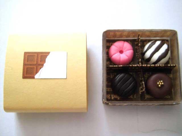 画像1: チョコBOX・大(特価)