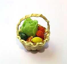 画像1: 野菜かご・B