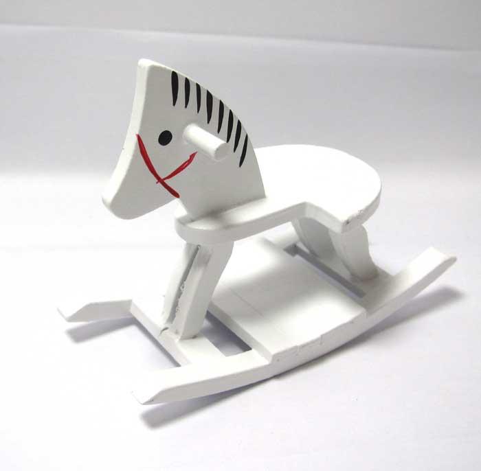 画像2: 木馬ホワイト2