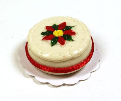画像1: クリスマスデコレーションケーキ(特価)