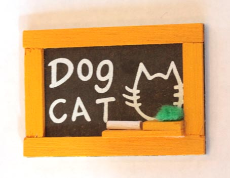 画像1: 黒板
