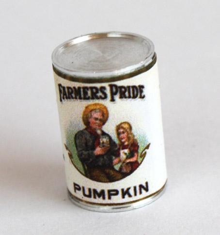 画像1: パンプキン缶詰