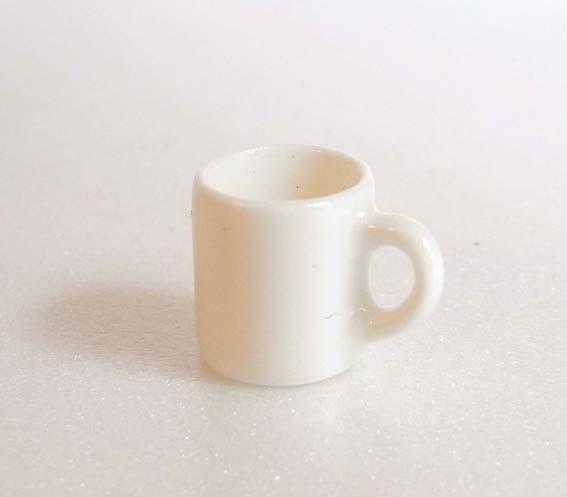 画像1: マグカップホワイト(陶器)