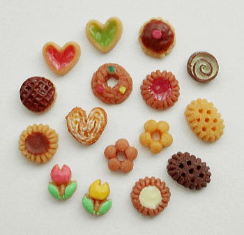 画像1: デコレーションクッキー16個セット