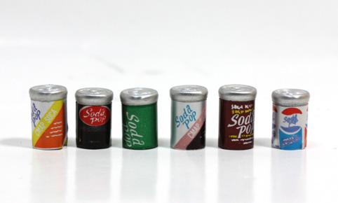 画像1: 缶ジュース6本セット