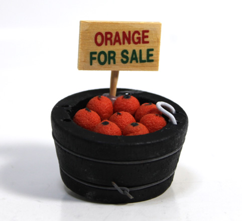 画像1: オレンジ樽入り