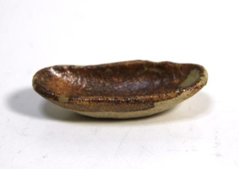 画像1: 陶芸楕円皿・大(特価)
