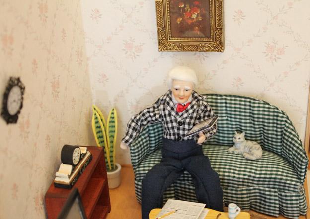 画像4: 休日のくつろぎリビングルーム