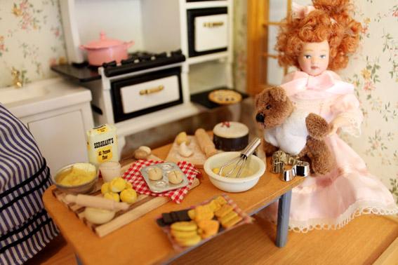 画像2: ママと一緒にお菓子パーティ準備♪