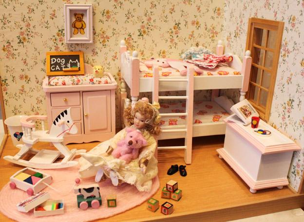画像1: おもちゃいっぱい!女の子のキッズルーム
