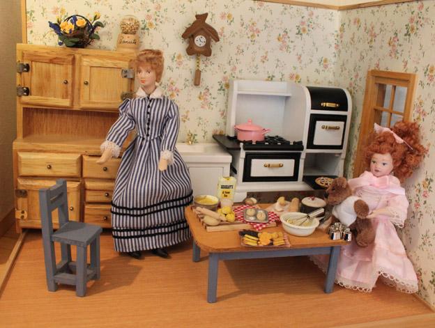 画像1: ママと一緒にお菓子パーティ準備♪