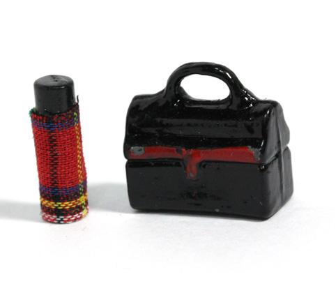 画像1: ランチボックス&水筒ミニ
