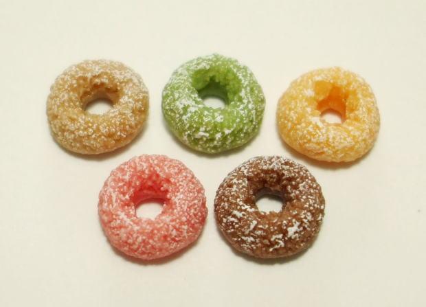 画像1: シュガードーナツ・5個セット