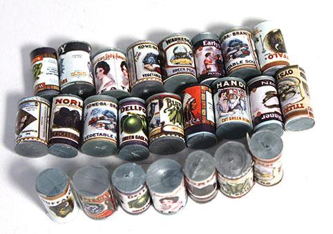 画像2: 缶24個セット・丸