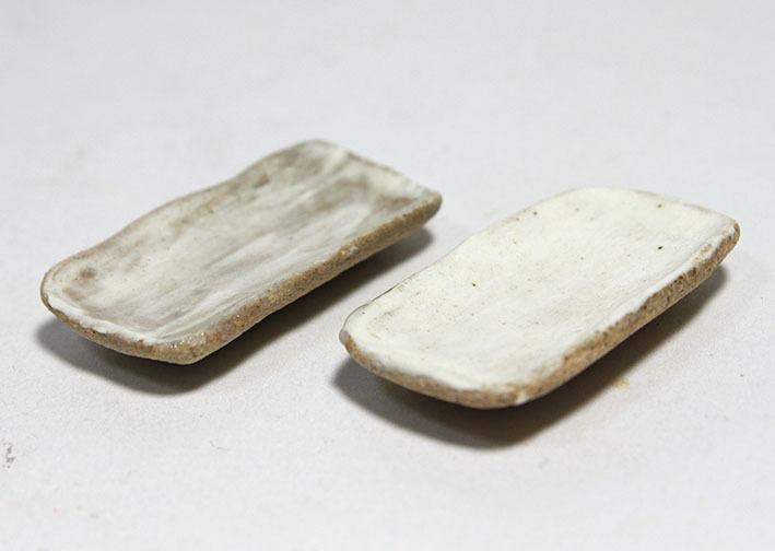 画像2: 陶芸・刷毛目長方皿(特価)