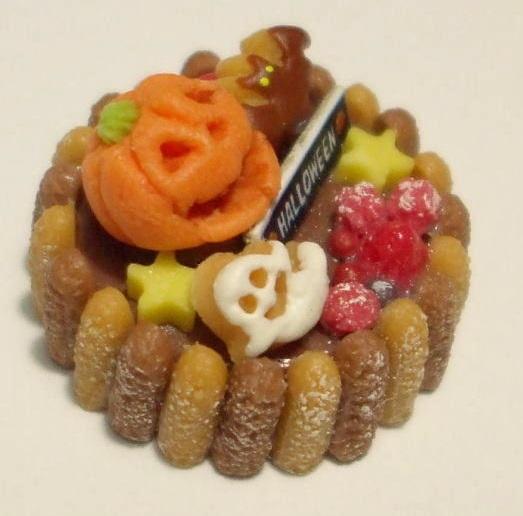 画像2: チョコ&ベリーのハロウィンケーキ