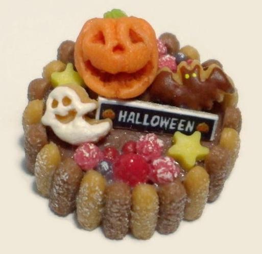 画像1: チョコ&ベリーのハロウィンケーキ