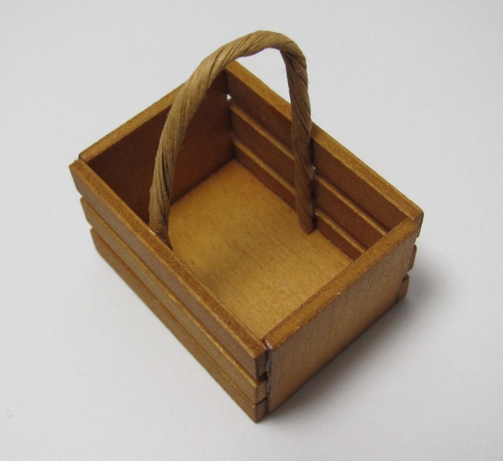 画像2: 木製取っ手付き箱