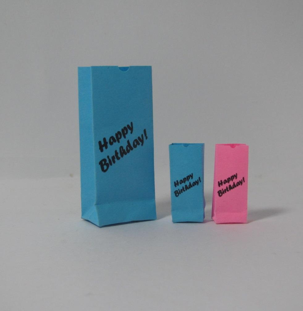画像1: バースデー紙袋セット2