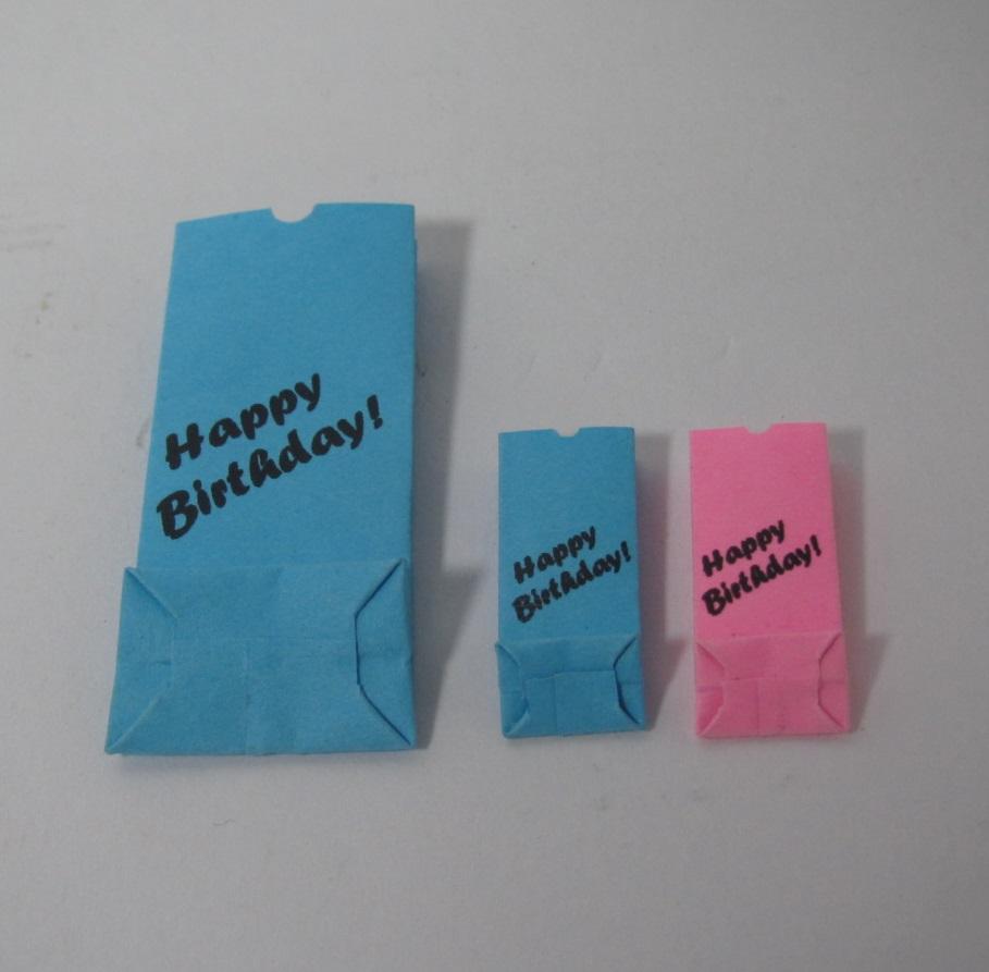 画像2: バースデー紙袋セット2