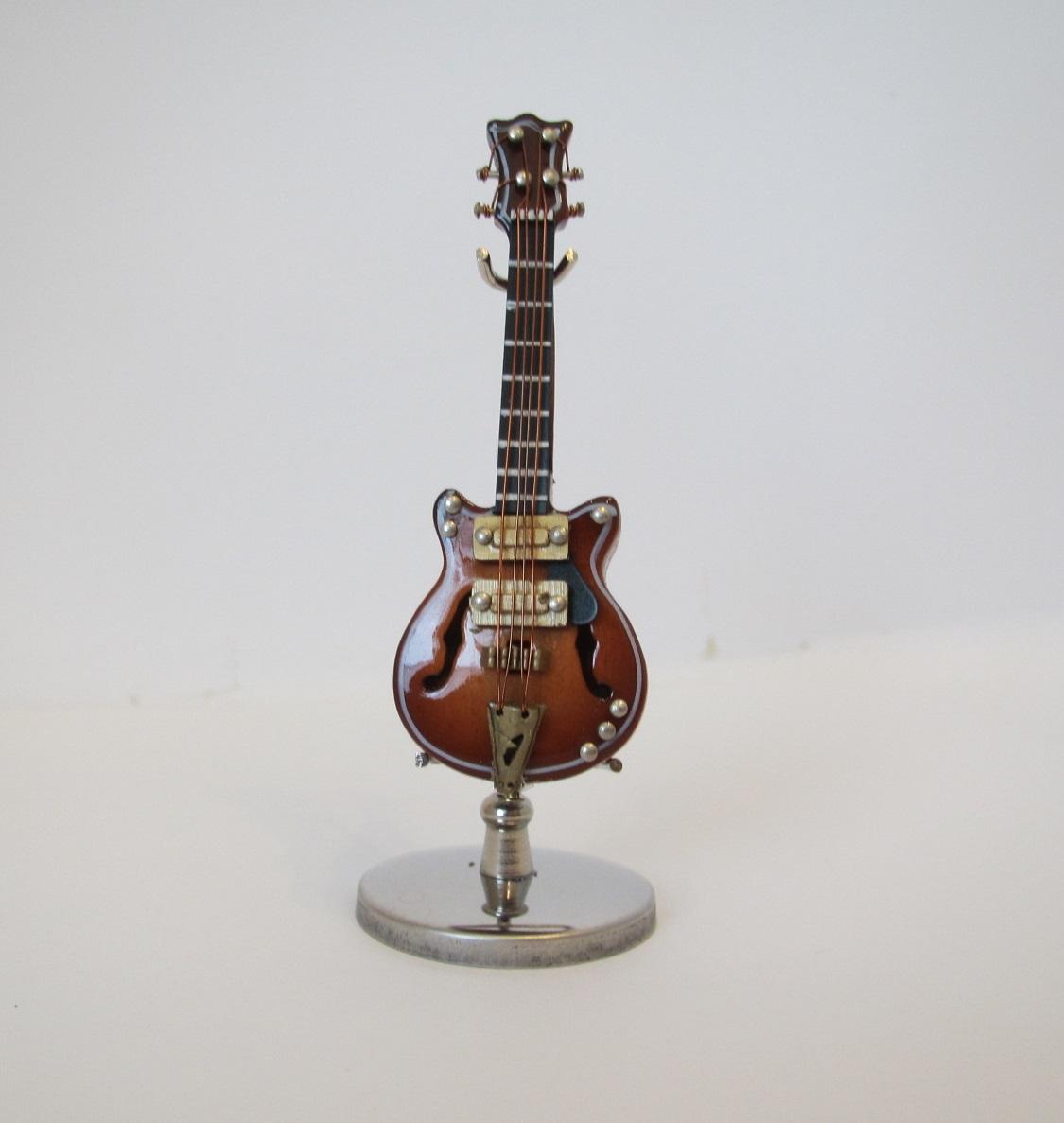 画像1: エレキギター・フルアコ・ブラウン
