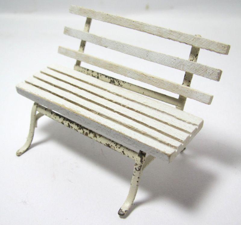 画像2: ガーデンベンチ ホワイト