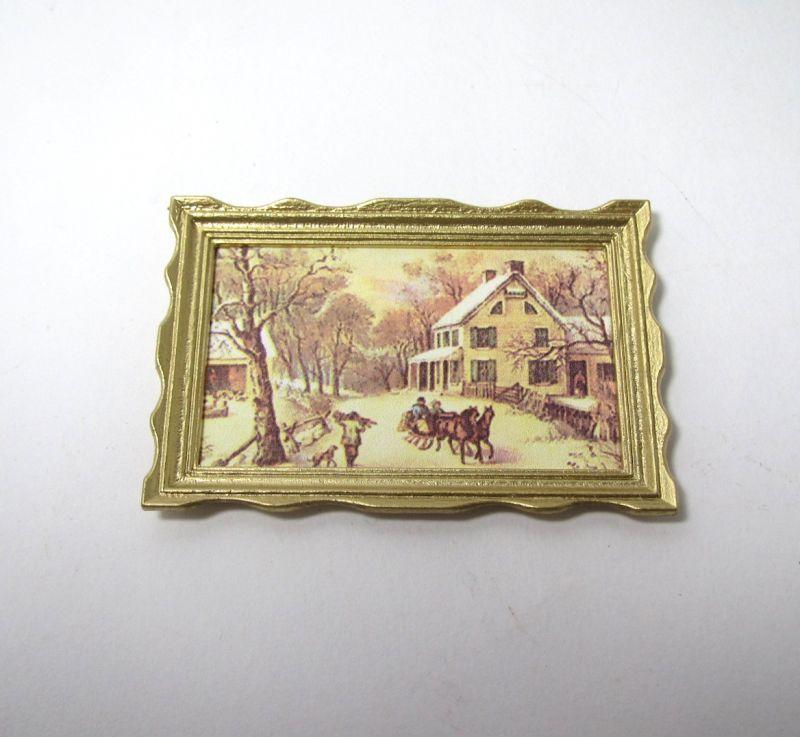 画像5: 絵画 額縁付 4枚セット