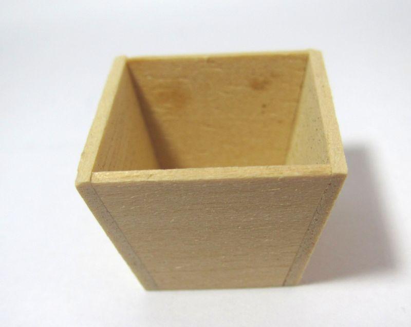 画像1: 木製台形プランター(小)