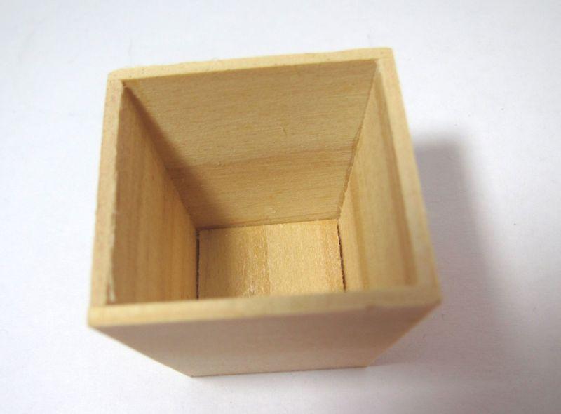 画像2: 木製台形プランター(大)