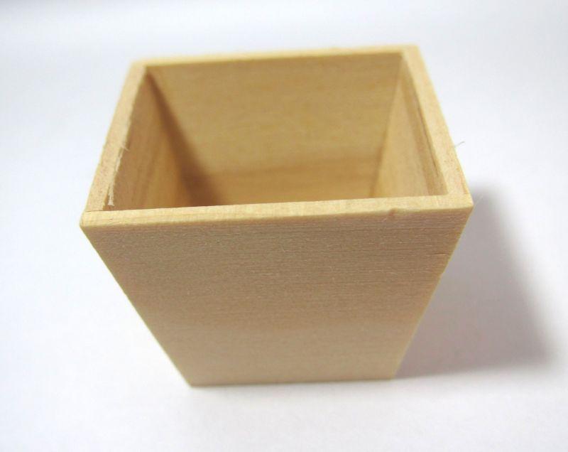 画像1: 木製台形プランター(大)