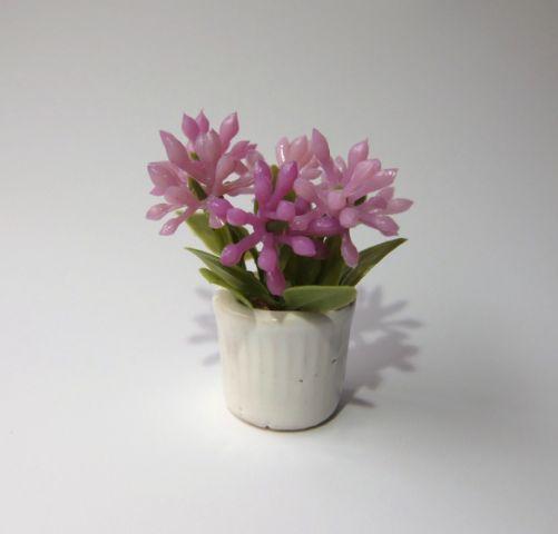 画像1: 鉢花(小)ピンク(特価)