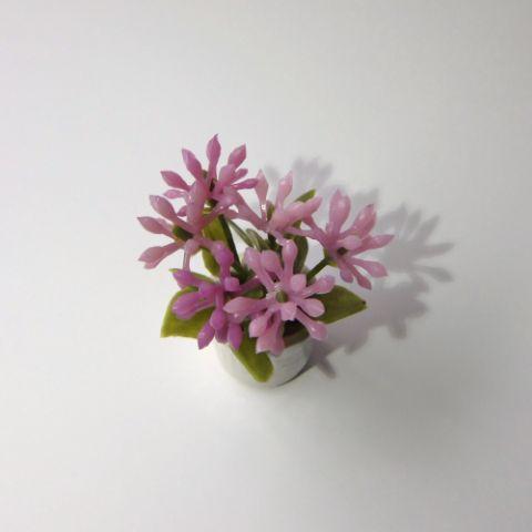 画像2: 鉢花(小)ピンク(特価)