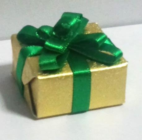 画像1: プレゼントボックス(グリーン)