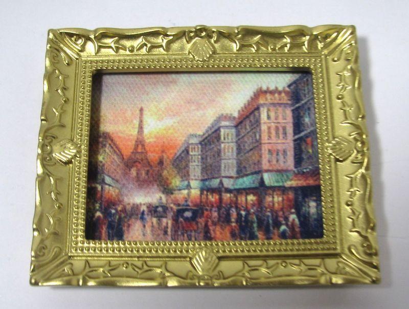 画像1: 絵画 パリの風景