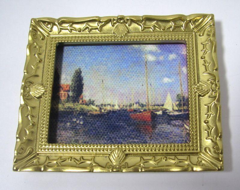 画像1: 絵画 モネ・ヨットと海