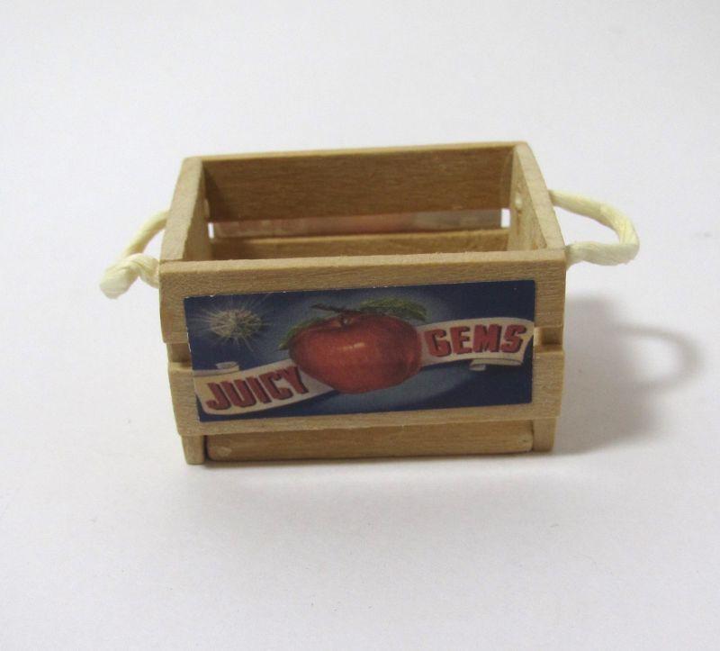 画像1: フルーツ木箱