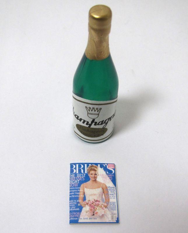 画像2: シャンパンとブライダル雑誌