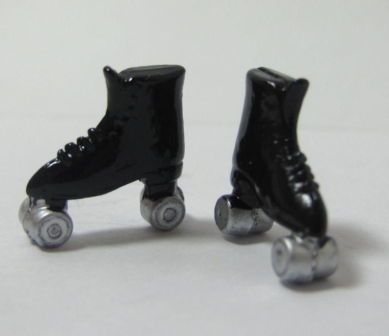 画像2: ローラースケート・黒