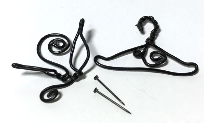 画像2: ハンガー&フック黒