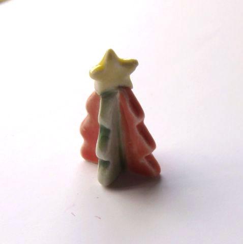 画像2: 陶器の卓上クリスマスツリー(特価)