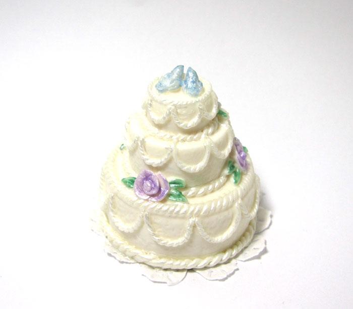 画像1: ウエディングケーキ・ホワイト