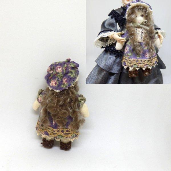 画像2: 人形(紫柄)